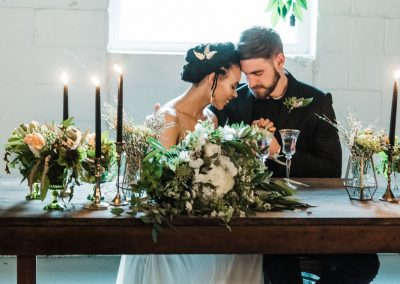 Industrial Candlelit Styled Shoot